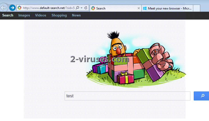 Default-search.net ウイルス