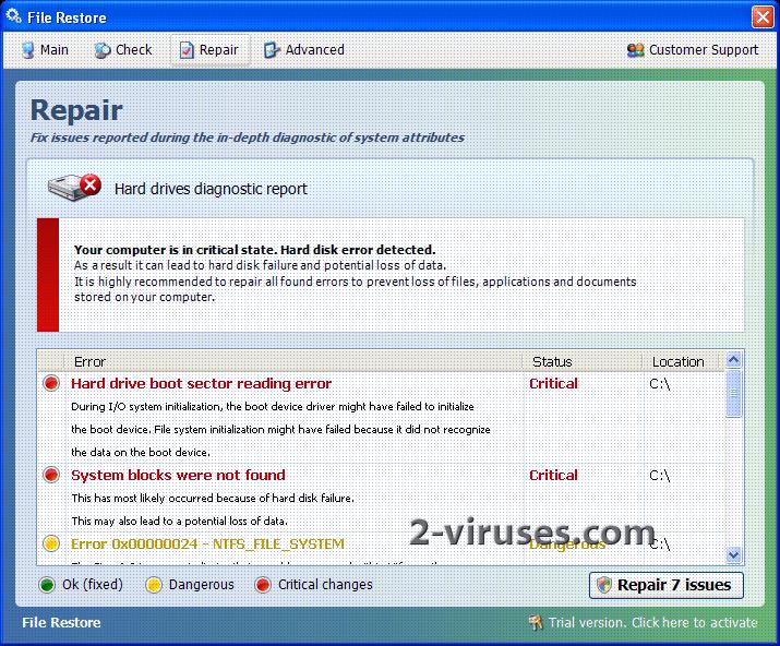 File Restore (virus)