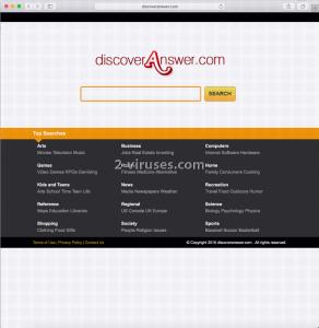 Discoveranswer.com ウイルス
