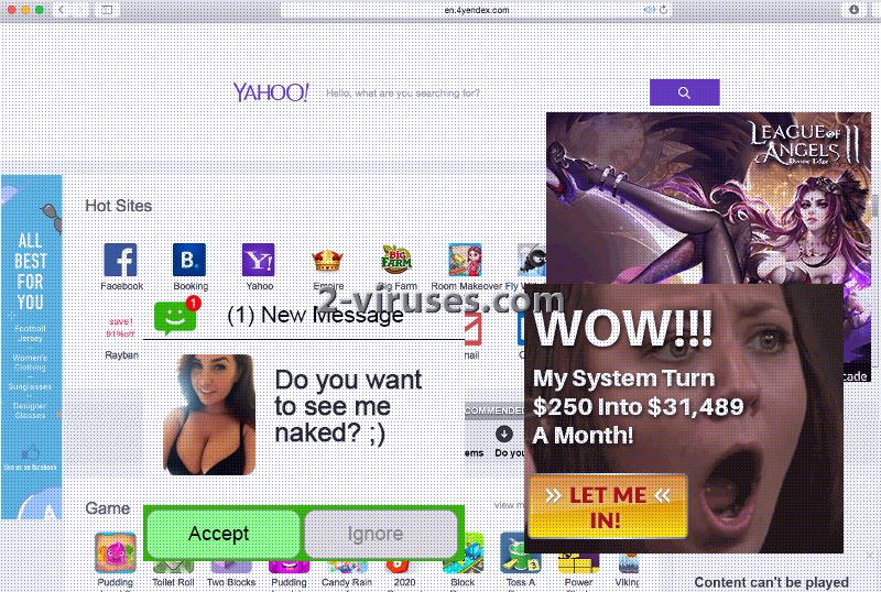 4Yendex.com ウイルス