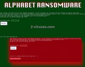 Alphabet ウイルス