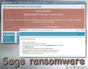Sage Ransomware (セージ・ランサムウェア)