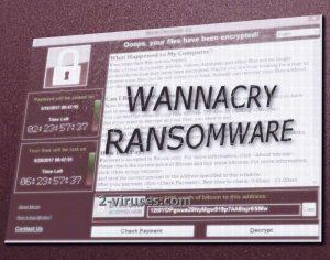 WannaCryptor ランサムウェア