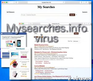 Mysearches.info ウイルス