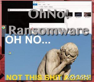 OhNo! ransomware ウイルス