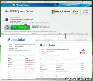 PC Smart Cleanup ウイルス