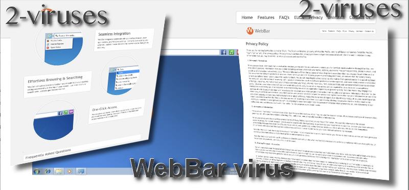 WebBar virus remove