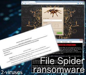 File Spider ランサムウェア
