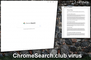 ChromeSearch.club ウイルス