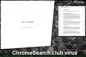 ChromeSearch.club ウイルス