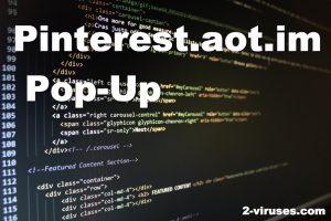 Pinterest.aot.im Pop-Up